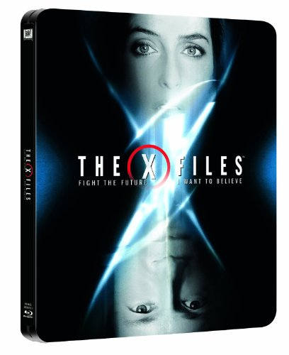 The X Files Movie Collection: Fight the Future (Region Free) / The X Files: I Want to Believe (Region B) Limited Edition Steelbook [Blu-ray]