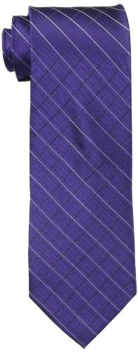 Calvin Klein Men's Steel Micro Solid A Tie
