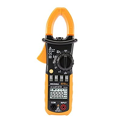 Digital Multimeter Ammeter Voltage Ohmmeter Current Clamp Meter Tester Handheld