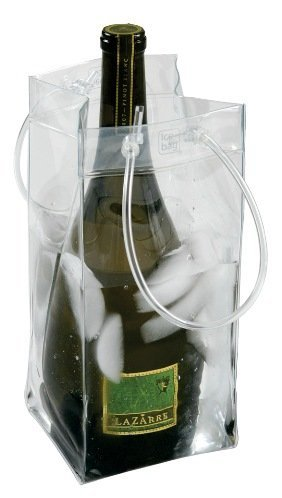 The Chiller: Wine Chiller and Ice Bucket, Ice Bag Carrier with Handles for White Wine, Champagne, Cold Beer and Chilled (Chiller Bag)