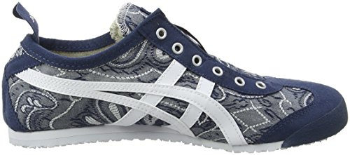 UK 4901 On Onitsuka White 5 Blue Slip Women's 66 Dark Asics 3 Trainers Mexico Tiger Multicolor aYSxZ7f
