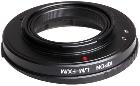 Kipon Leica M Lens to Fuji X Series Camera Lens Adapter with Macro-Helicoid Feature