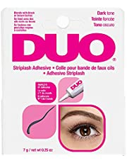 DUO Striplash Faux Eyelash Adhesive Water Proof Solution, Dark Tone, 0.25 oz./7 g.