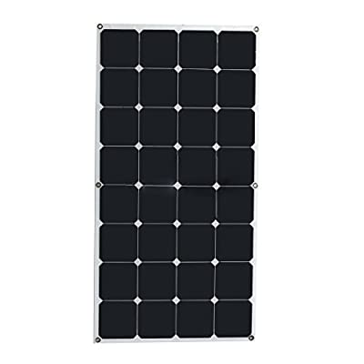Best Cheap Deal for Solar Panel - TOOGOO(R)100W 18V Monocrystalline silicon Semi-flexible Solar Panel from TOOGOO(R) - Free 2 Day Shipping Available