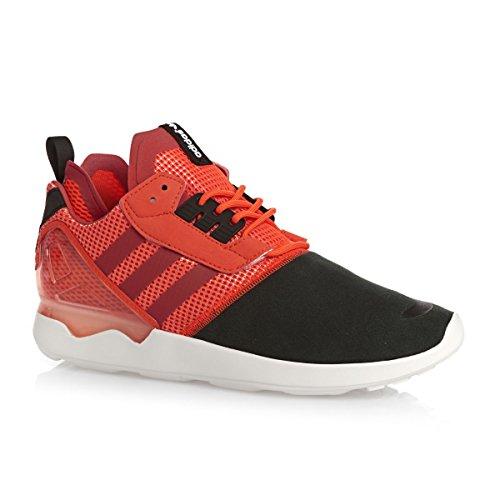 Zx Svart Mens Originaler Boost B26368 Sneaker Adidas 8000 Oransje Rød a15wxz