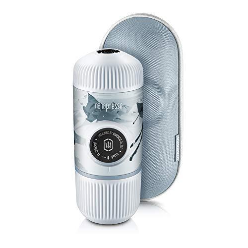 WACACO Nanopresso Cafetera Espresso Portátil Incluida con Estuche Protector, Versión Mejorada de Minipresso, 18 Bar de…