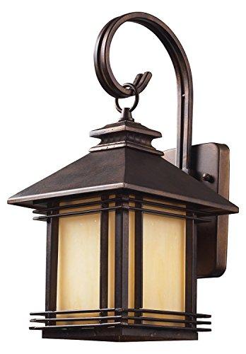 Blackwell Wall Lantern (One Light Hazlenut Bronze Wall Lantern)