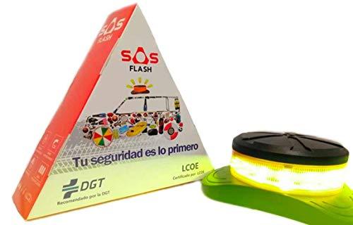 SOS FLASH Noodlicht, aanbevolen door de DGT