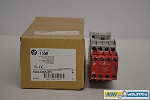 - NEW ALLEN BRADLEY 100S-C09ZJ23C GUARDMASTER 24V-DC 7.5HP 25A CONTACTOR D337737