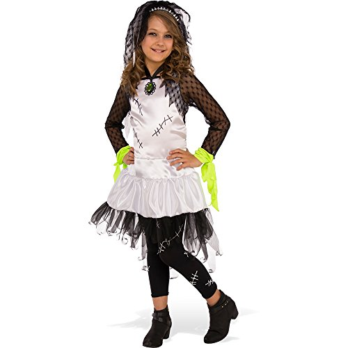 Monster Bride Costume (Rubies Costume Child's Monster Bride Costume, Medium, Multicolor)