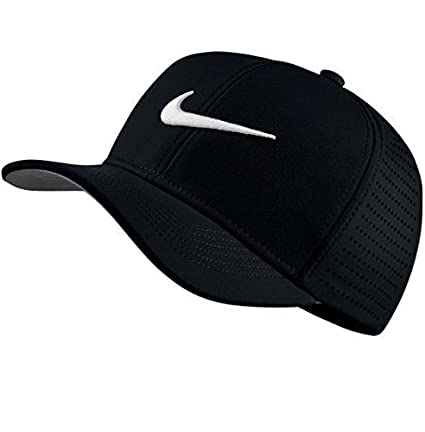 Nike Ya Classic 99, Gorra Unisex de Golf para Jóvenes, Negro, Talla Única