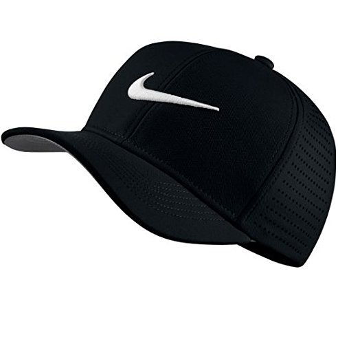 Nike Youth AeroBill Classic99 Athletic Golf Hat Adjustable (Black)