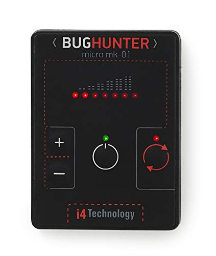 Anti Spy Bug Detector BugHunter MICRO Hidden Camera Microphone Cellphone Hunter from i4 Technology