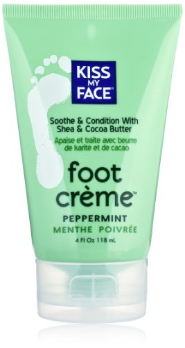 - Kiss My Face Foot Creme, 4-Ounce Tubes (Pack of 2)