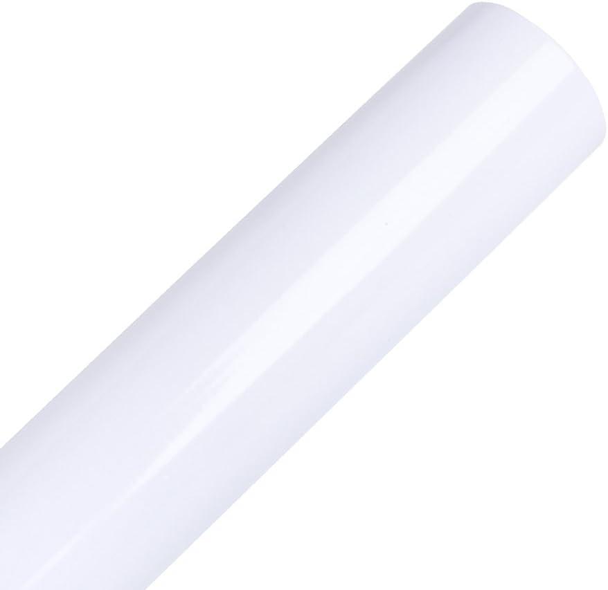 Vinilo adhesivo permanente blanco brillante 30x300cm para ...