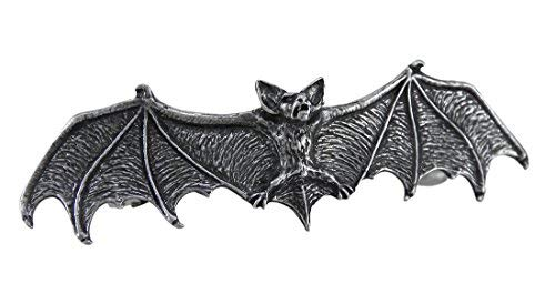 Spooky Halloween Clips (Darkling Bat - Slide Gothic Hair Accessories Alchemy Alternative)