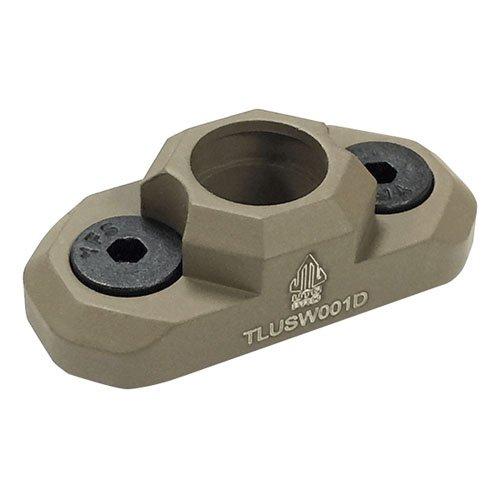 UTG PRO M-LOK(R) Standard QD Sling Swivel Adaptor-FDE Cerakote