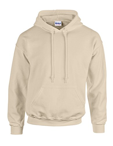 Gildan mens Heavy Blend 8 oz. 50/50 Hood(G185)-SAND-XL