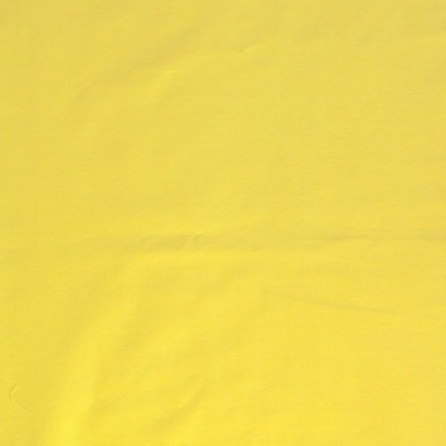 100% Cotton Voile Fabric Solid Pattern 60 (1 YARD, Yellow) (Solid Cotton Upholstery)