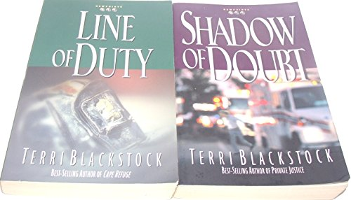 911 Series (Author Terri Blackstock Two Book Bundle of The Newpointe 911 Series Includes: Line of Duty and Shadow of Doubt)