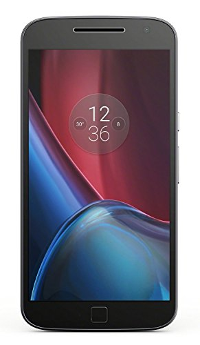 Motorola XT1641 Moto G4 Plus 32GB GSM Only Factory Unlocked (International Model) - Black