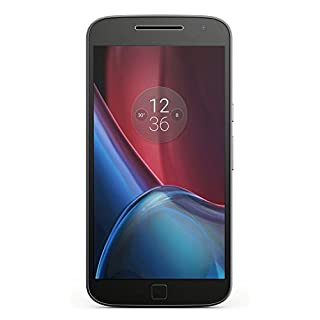 "Motorola Moto G4 Plus 16GB GSM Unlocked Android Smartphone w/ 5.5"" IPS LCD Display, 16MP+5MP Cameras, Octa-Core CPU - Black"