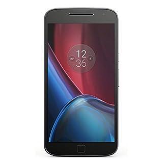 "Motorola Moto G4 Plus 16GB GSM Unlocked Android Smartphone w/ 5.5"" IPS LCD Display, 16MP+5MP Cameras, Octa-Core CPU - Black"