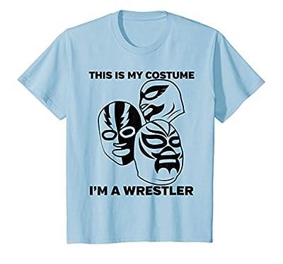 Wrestler Halloween Costume Tshirt