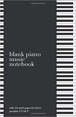 "Utorrent En Español Descargar Blank Piano Music Notebook : With Dot Grid Pages For Lyrics : Portable 5.5""x8.5"" Ebook Gratis Epub"