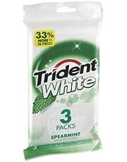 Trident White Spearmint Sugar-Free Gum - 48ct