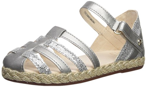 UGG Girls T Matilde Sparkles Flat Sandal, Metallic, 12 M US Little Kid