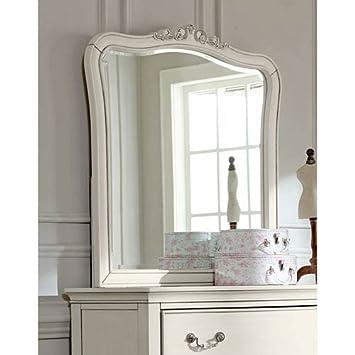 Amazon Com Ne Kids Kensington Dresser Mirror In Antique White Home