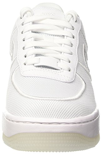 Nike Wmns Af1 Low Upstep Br, Entrenadores para Mujer Blanco (White/white/glacier Blue)