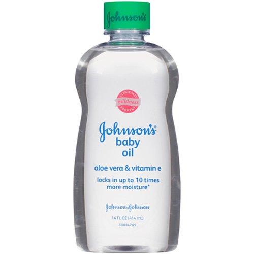 Oil Aloe (Johnson's Baby Oil - Aloe Vera & Vitamin E - 14)
