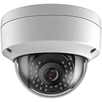 Hykamic Outdoor 4MP PoE Dome IP Security Camera- IP66 Weatherproof, 2K HD (4mm Lens)