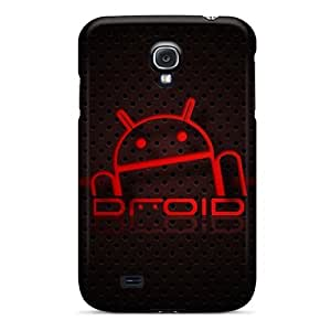 Bernardrmop Case Cover Protector Specially Made For Galaxy S4 Droid161 Red