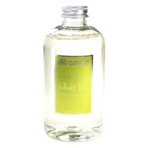 White Tea Fragrance - 8 oz Reed Diffuser Scented Oil Refill - Tea (White Tea)