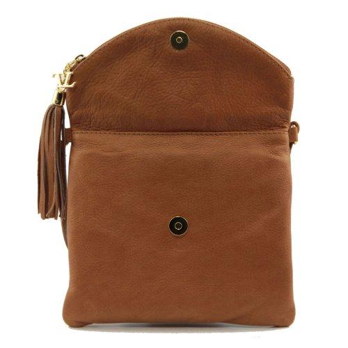 Spalla Leather Borsa Tuscany Marrone Donna A t4wqcF6q