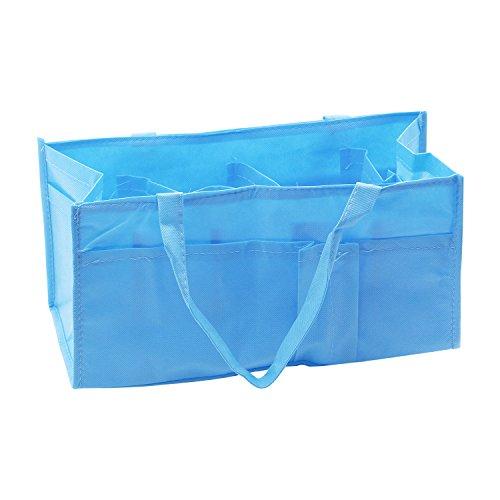 Baby Mutter Tasche tragbare Handtasche Windeltasche Mutter (Blau)