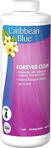 Caribbean Blue Forever Clean Swimming Pool Weekly Enzyme Pool & Spa Chemicals