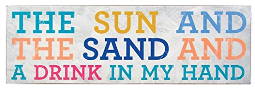 about-face-designs-wooden-wall-decor-plaque-375-by-1175-inch-the-sun-and-the-sand-a-drink-in-my-hand