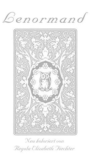 Lenormand Weisse Eule. 36 Karten neu koloriert