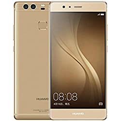 "Huawei P9 EVA-L19 32GB Prestige Gold, Dual Sim, 5.2"", GSM Unlocked International Model, No Warranty"