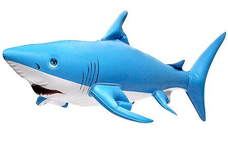 24'' L Inflatable Shark Ocean Life Animal Zoo