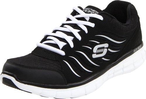 Skechers Synergy 11683 Damen Sneaker Schwarz (Bkw)