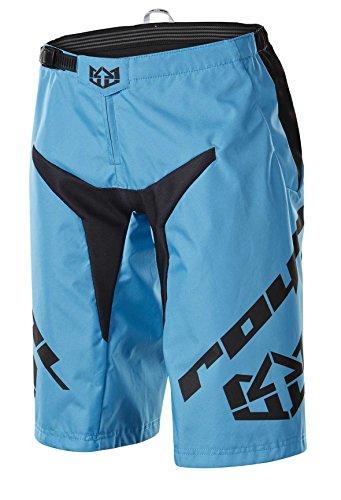 Royal Racing Youth Race Lite Shorts, Electric Blue/Black, Small by Royal Racing