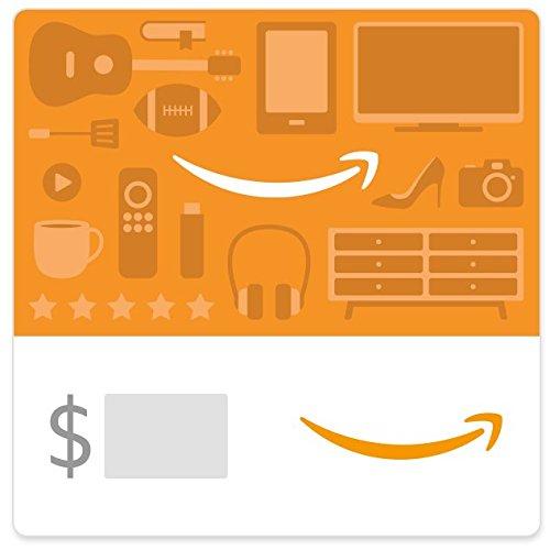 Amazon eGift Card - Shopping Icons -