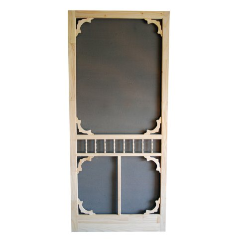 Superbe Screen Tight WCOL36 Premier Wood Screen Door, 36 Inch By 80 Inch
