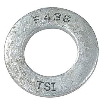 """1//2/'/' A36 Steel Washer 6-3//8/"""" OD x 2.00/"""" ID"""