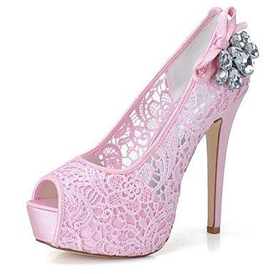 Pink RTRY amp;Amp; Platform Black US8 Evening Summer Rhinestone Women'S CN39 Party Wedding Platform UK6 EU39 Stiletto Heel Fall Spring 6qSwpxA6